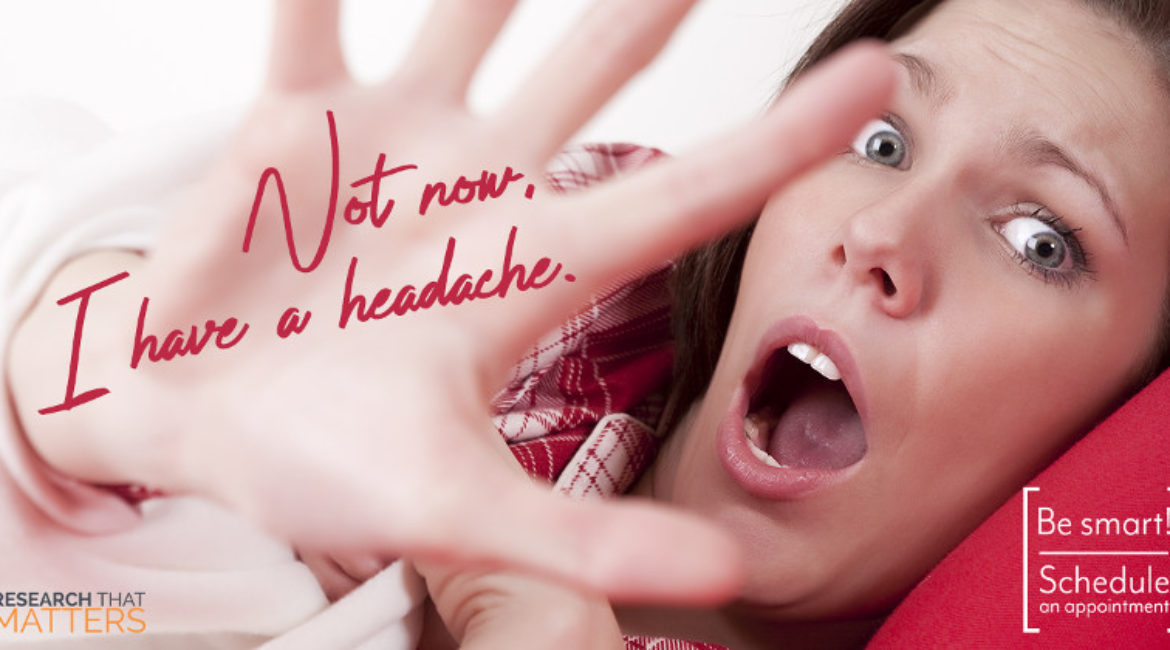 Happiness is… Not Having a Headache