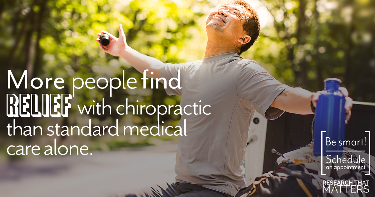 More People Find Relief With Chiropractic Than Medical Care Alone [Research]