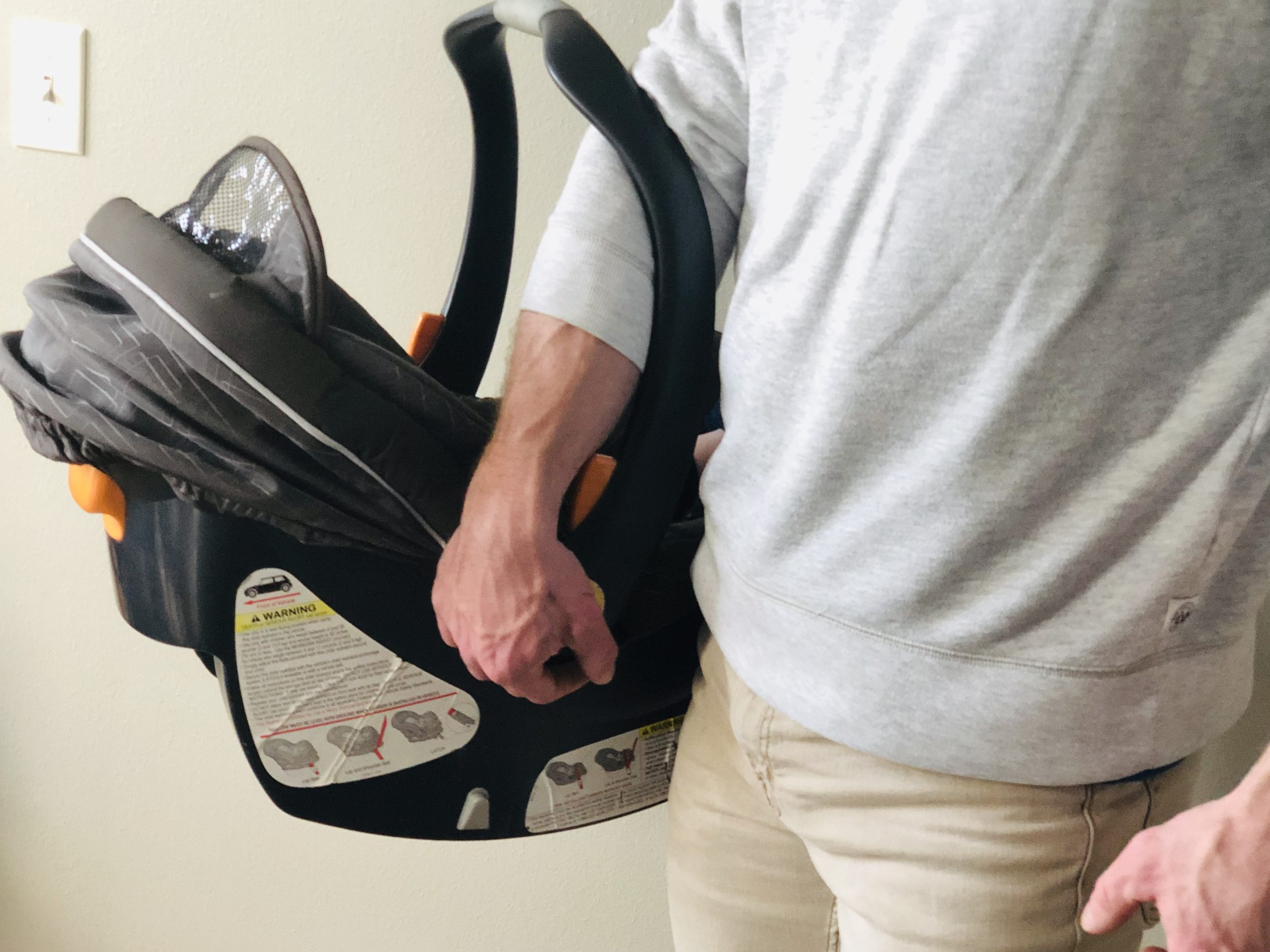 New Parent Lifehack: How To Carry a Baby Car Seat Without Causing Back & Shoulder Pain